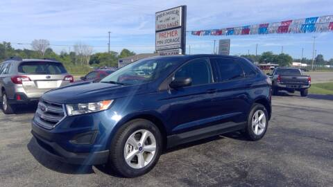 2017 Ford Edge for sale at Premier Auto Sales Inc. in Big Rapids MI