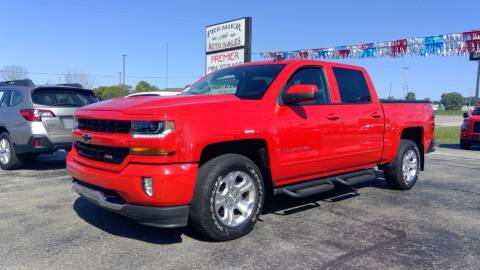 2017 Chevrolet Silverado 1500 for sale at Premier Auto Sales Inc. in Big Rapids MI