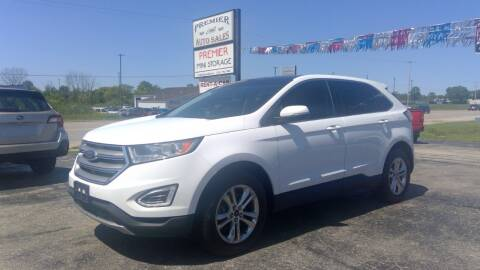 2016 Ford Edge for sale at Premier Auto Sales Inc. in Big Rapids MI