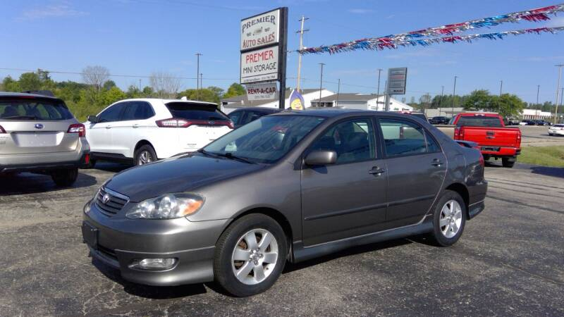 2006 Toyota Corolla for sale at Premier Auto Sales Inc. in Big Rapids MI