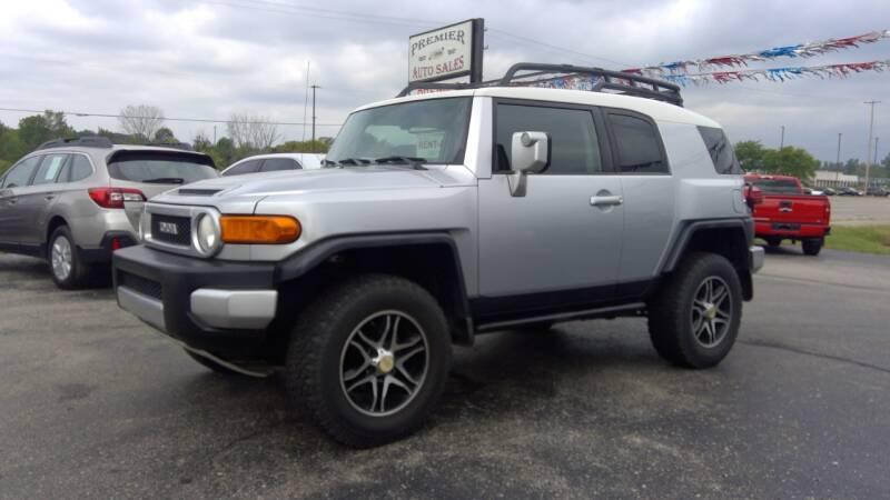 2007 Toyota FJ Cruiser for sale at Premier Auto Sales Inc. in Big Rapids MI