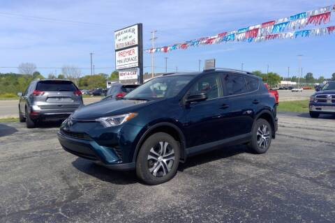 2017 Toyota RAV4 for sale at Premier Auto Sales Inc. in Big Rapids MI