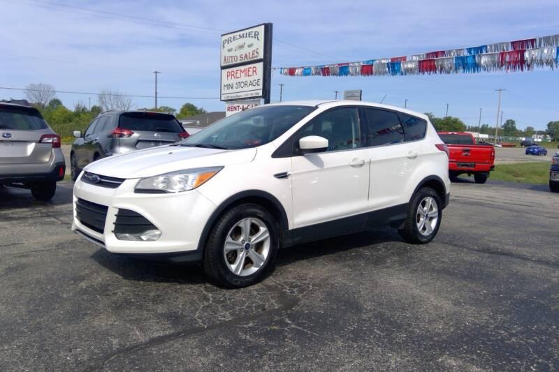 2014 Ford Escape for sale at Premier Auto Sales Inc. in Big Rapids MI