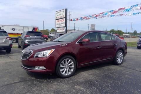 2016 Buick LaCrosse for sale at Premier Auto Sales Inc. in Big Rapids MI