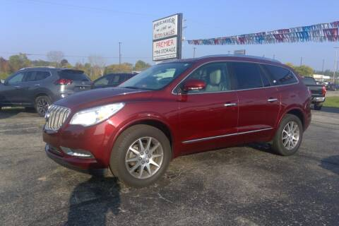 2017 Buick Enclave for sale at Premier Auto Sales Inc. in Big Rapids MI
