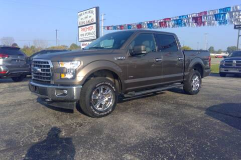 2017 Ford F-150 for sale at Premier Auto Sales Inc. in Big Rapids MI