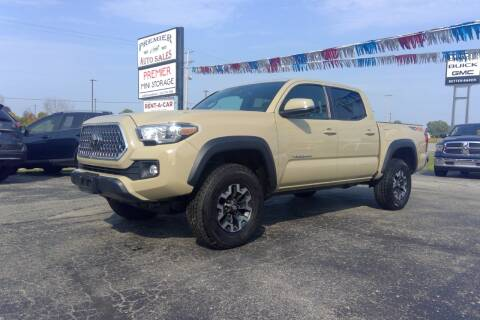 2019 Toyota Tacoma for sale at Premier Auto Sales Inc. in Big Rapids MI