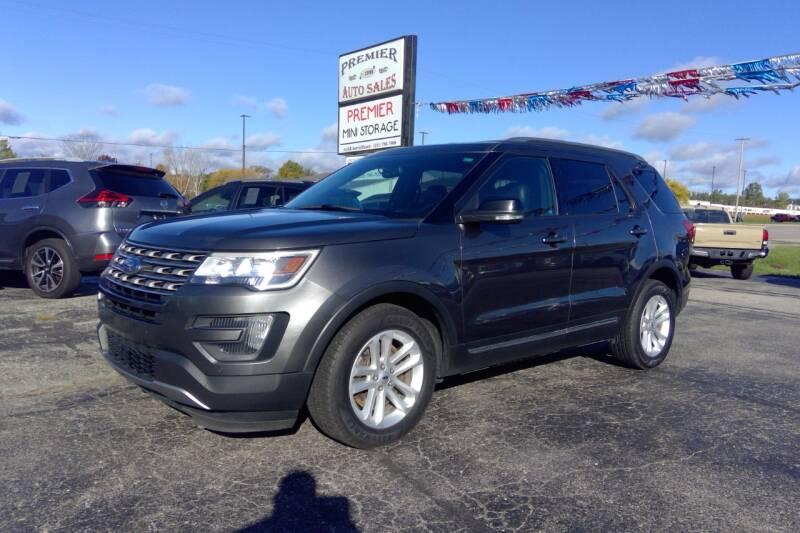 2016 Ford Explorer for sale at Premier Auto Sales Inc. in Big Rapids MI