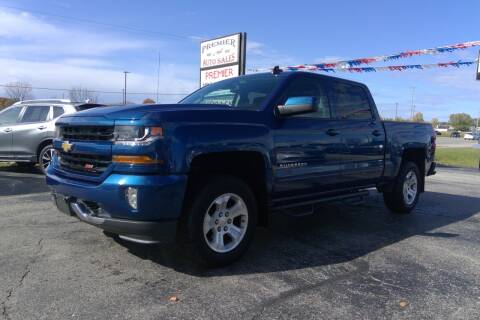 2016 Chevrolet Silverado 1500 for sale at Premier Auto Sales Inc. in Big Rapids MI