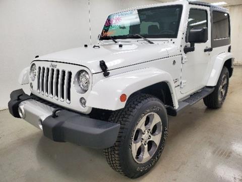 2017 Jeep Wrangler for sale in Celina, OH