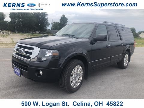 2012 Ford Expedition EL for sale in Celina, OH