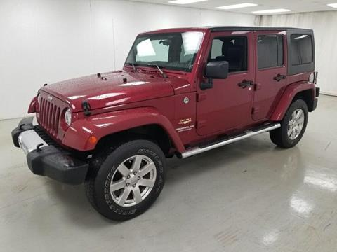2012 Jeep Wrangler Unlimited for sale in Celina, OH