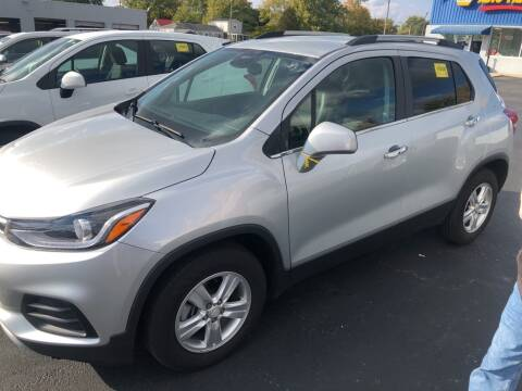 2019 Chevrolet Trax for sale at Kerns Ford Lincoln in Celina OH
