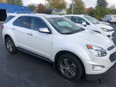 2017 Chevrolet Equinox for sale at Kerns Ford Lincoln in Celina OH