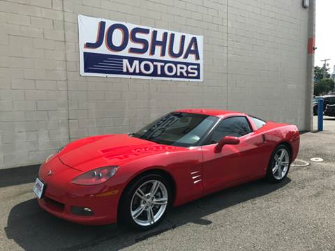 2008 chevrolet corvette for sale in new jersey for Joshua motors vineland nj