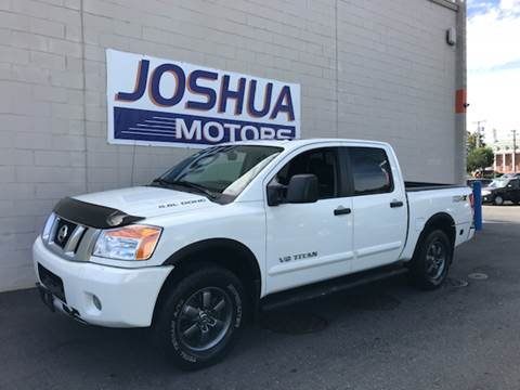 Nissan titan for sale in vineland nj for Joshua motors vineland nj