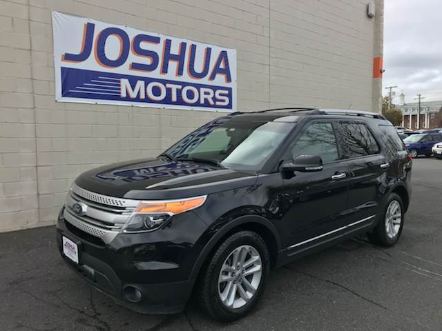 2013 ford explorer xlt 4dr suv in vineland nj joshua motors for Joshua motors vineland nj