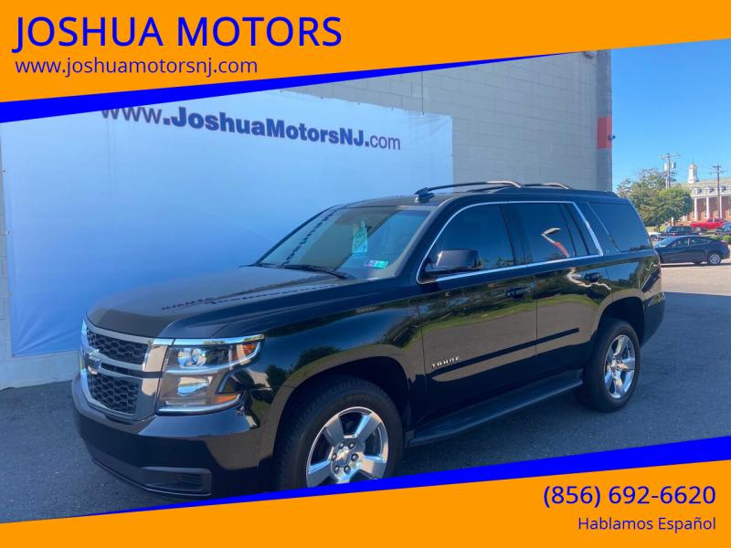 2016 Chevrolet Tahoe for sale at JOSHUA MOTORS in Vineland NJ