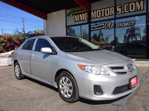 2013 Toyota Corolla for sale in Redlands, CA