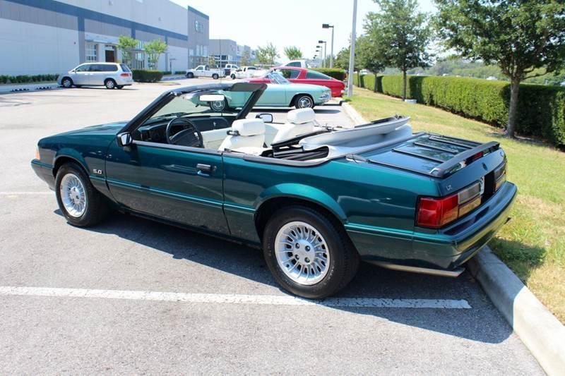 1990 Ford Mustang LX 5.0 2dr Convertible - Sarasota FL