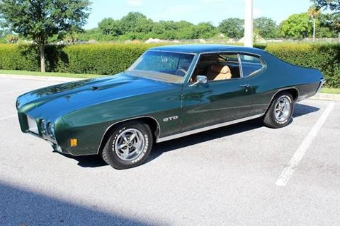 1970 Pontiac GTO for sale in Sarasota, FL