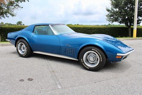1970 Corvette For Sale >> 1970 Chevrolet Corvette For Sale In Sarasota Fl