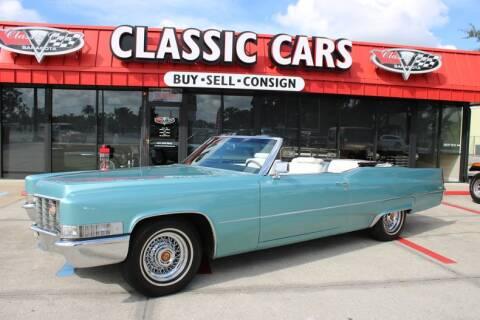 1969 Cadillac Eldorado for sale at Classic Cars of Sarasota in Sarasota FL
