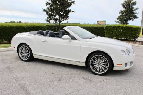 2010 Bentley Continental GT Speed for sale at Classic Cars of Sarasota in Sarasota FL