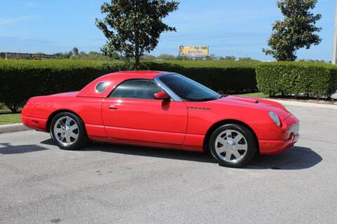 2002 Ford Thunderbird Deluxe for sale at Classic Cars of Sarasota in Sarasota FL