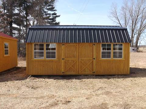 10 X 20 SIDE LOFTED BARN WITH 6-2 X 3 WINDOWS for sale at Extra Sharp Autos in Montello WI