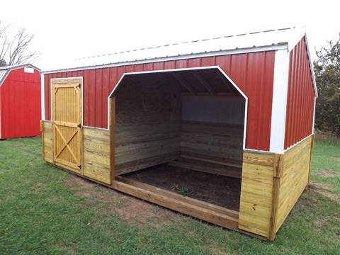 2018 10 X 20 HORSE AND TACK BARN OR INDOOR ANIMAL SHELTER for sale in Montello, WI