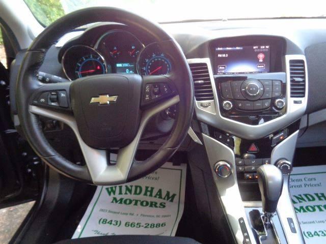 2014 Chevrolet Cruze 1LT Auto 4dr Sedan w/1SD - Florence SC
