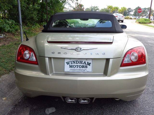 2007 Chrysler Crossfire Limited 2dr Convertible - Florence SC