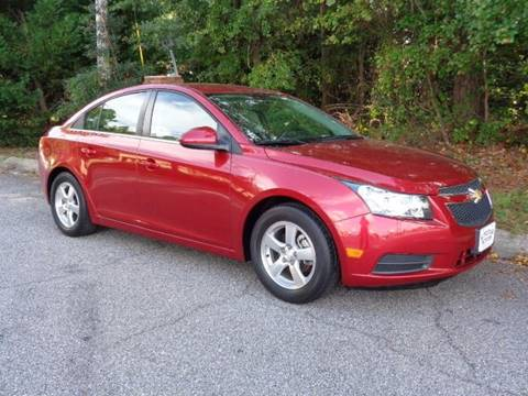2014 Chevrolet Cruze for sale in Florence, SC