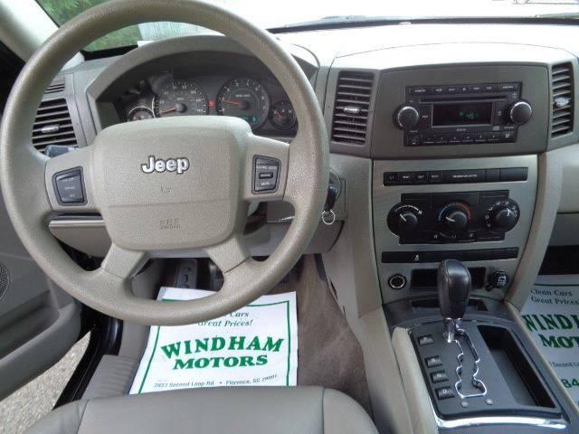 Windham Motors Florence >> 2006 Jeep Grand Cherokee Laredo 4dr SUV In Florence SC - Windham Motors