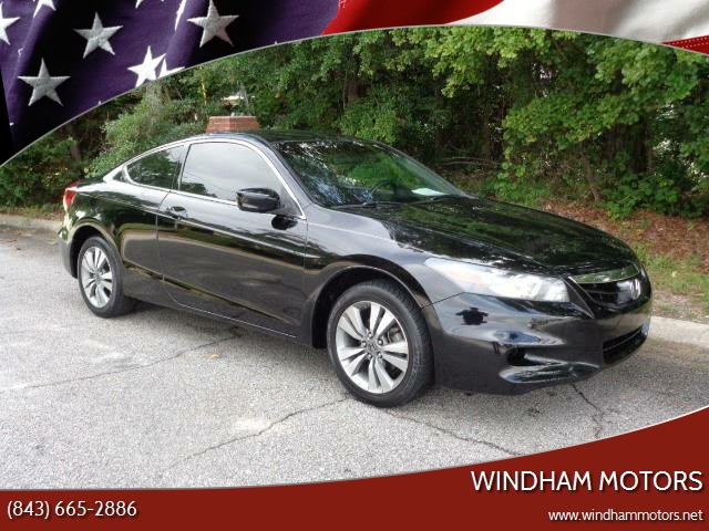 2012 honda accord lx s 2dr coupe 5a in florence sc windham motors. Black Bedroom Furniture Sets. Home Design Ideas