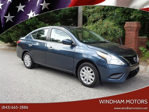Nissan Florence Sc >> Nissan Versa For Sale In Florence Sc Windham Motors