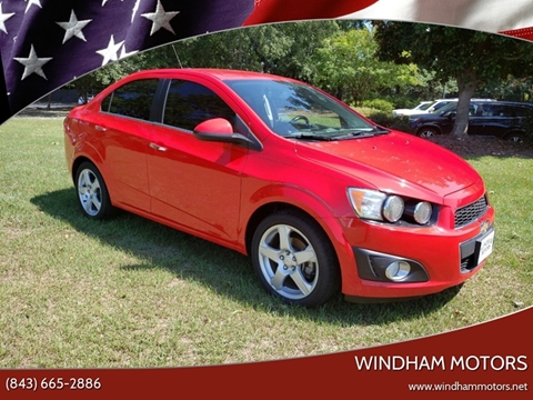 2015 Chevrolet Sonic for sale in Florence, SC