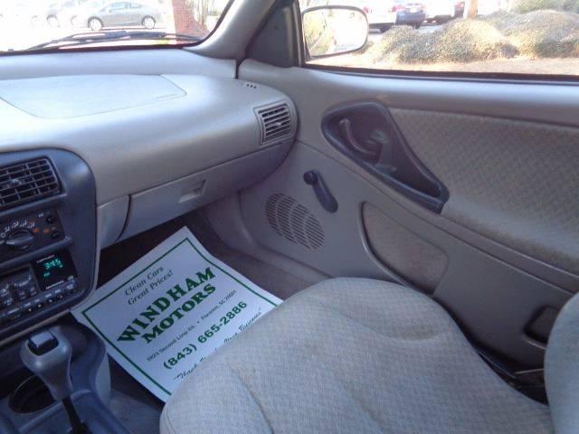 1998 Chevrolet Cavalier 2dr Coupe - Florence SC