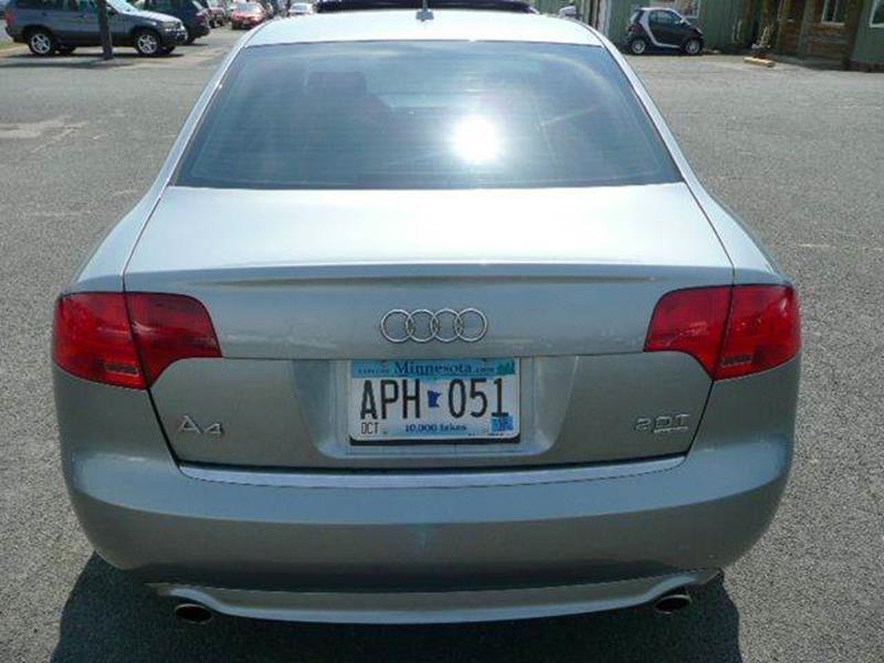 2008 Audi A4 Awd 20t Quattro 4dr Sedan 2l I4 6a In Osseo Mn