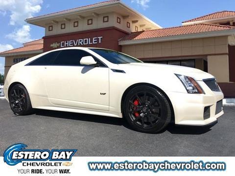 2014 Cadillac CTS-V for sale in Estero, FL