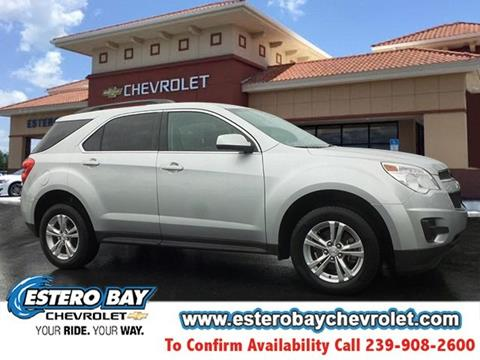 2013 Chevrolet Equinox for sale in Estero FL