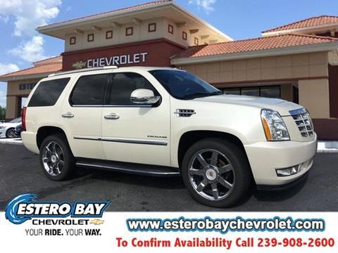 2014 Cadillac Escalade for sale in Estero, FL