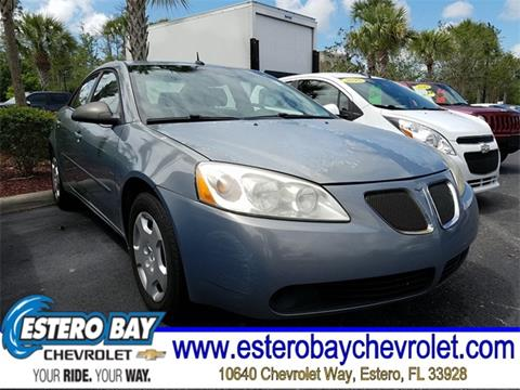 2008 Pontiac G6 for sale in Estero, FL