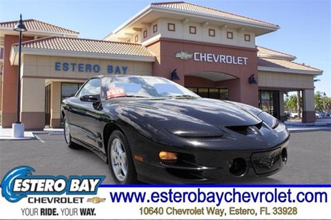 1998 Pontiac Firebird for sale in Estero, FL