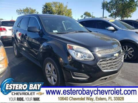 2016 Chevrolet Equinox for sale at Estero Bay Chevrolet Inc in Estero FL