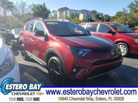 2018 Toyota RAV4 for sale at Estero Bay Chevrolet Inc in Estero FL