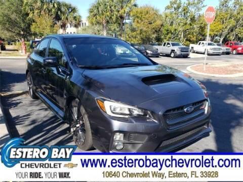 2016 Subaru WRX for sale at Estero Bay Chevrolet Inc in Estero FL