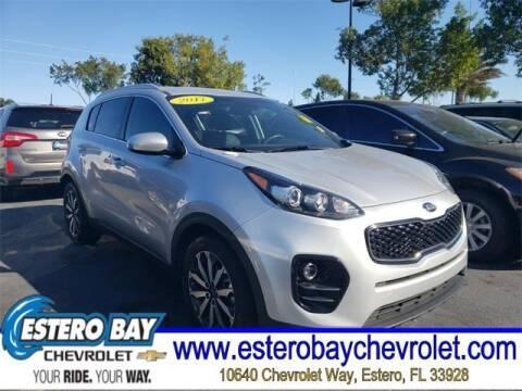 2017 Kia Sportage for sale at Estero Bay Chevrolet Inc in Estero FL