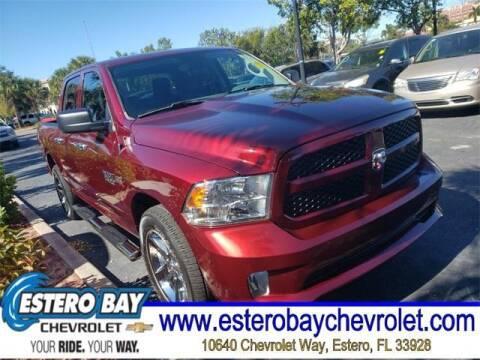 2018 RAM Ram Pickup 1500 for sale at Estero Bay Chevrolet Inc in Estero FL